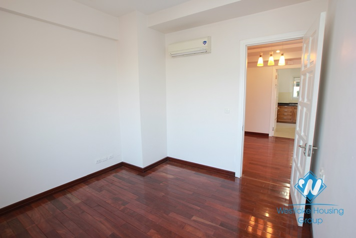 Large size apartment for rent in Ciputra, Tay Ho, Ha Noi - Unfurnished
