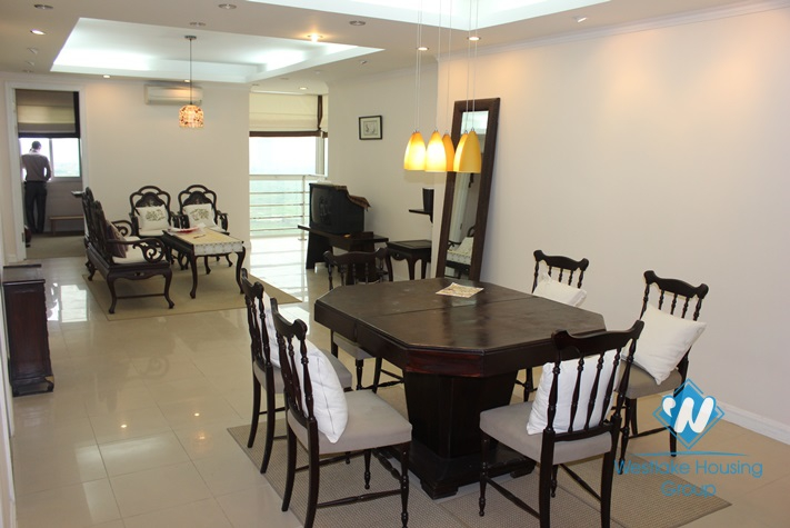Beautiful and high quality apartment with 03 bedrooms for lease in Ciputra, Tay Ho, Ha Noi.