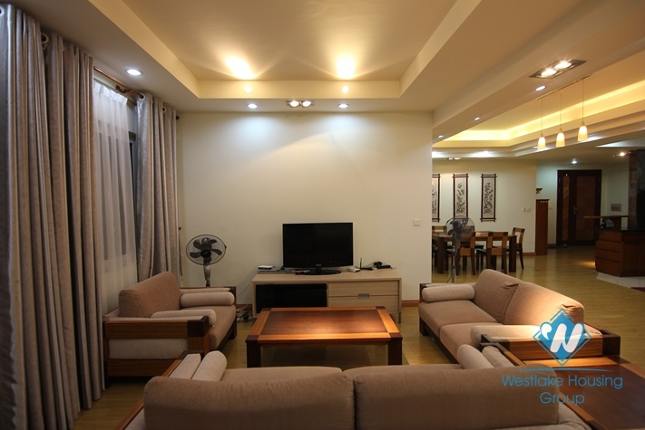 Big size apartment with 3 bedrooms for rent in ciputra  area