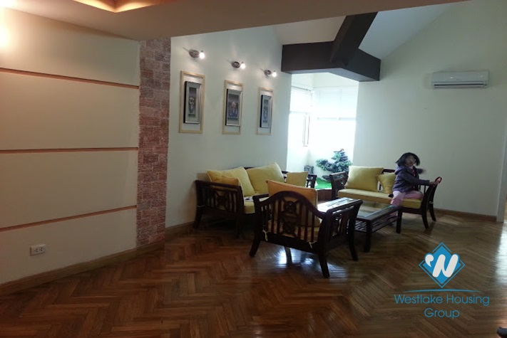 Cosy penthouse available for lease in Ciputra, Tay Ho, Hanoi, fully furnished.