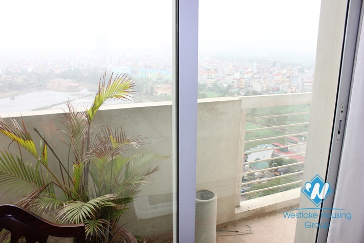 Furnished apartment available for lease in E tower, Ciputra, Hanoi