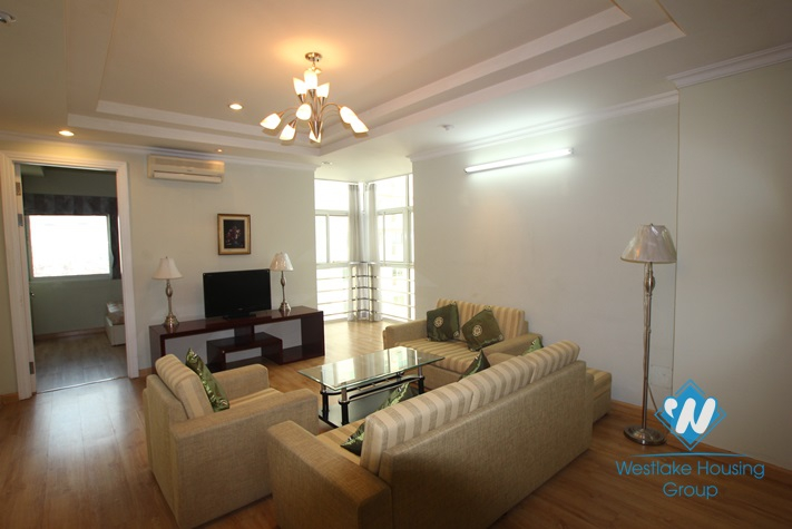 Cosy apartment available for lease in Ciputra, Tay Ho, Hanoi- fully furnished.