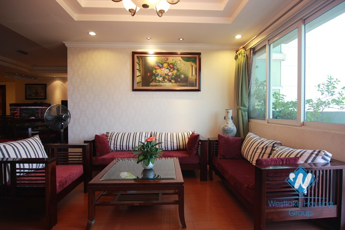 Luxury apartment in Ciputra Tay Ho for rent with 04 bedrooms