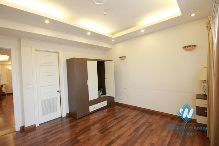 Modern and beautiful apartment for rent in Ciputra area, Tay Ho, Hanoi