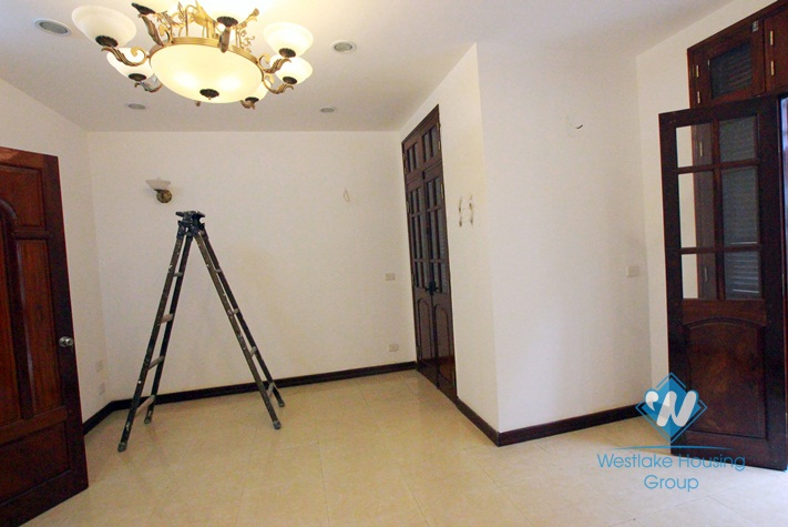 Beautiful house with quiet location for rent in Ba Dinh District, Hanoi