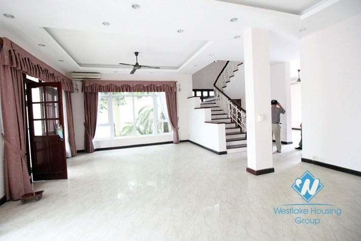 Large house for rent near UNIS School, Ciputra, Hanoi
