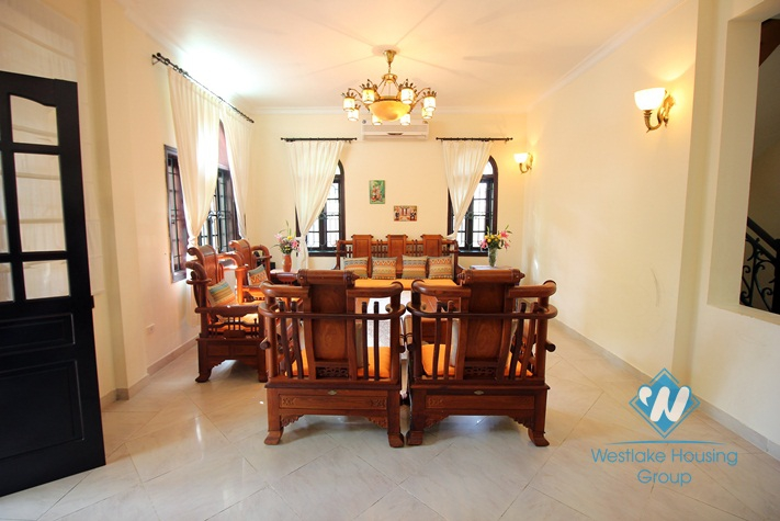 Lovely villa for rent in Ciputra, Tay Ho