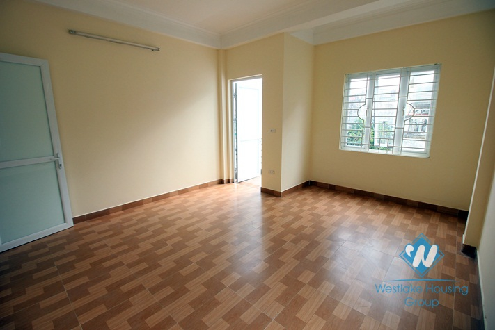 A new and Unfurniture house for rent in Tay Ho, Ha Noi