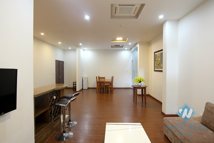 Big and nice apartment with separate bedroom fo rent in Dang Thai Mai St, Tay Ho, Ha Noi