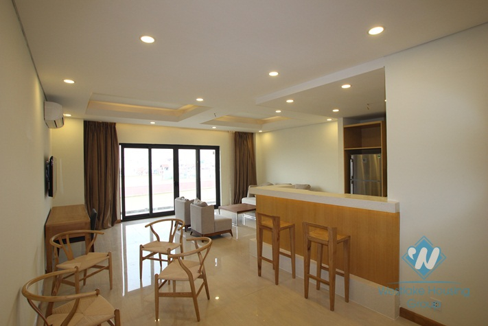 Brand new, high quality 02 apartment for rent in Tay Ho district, Hanoi