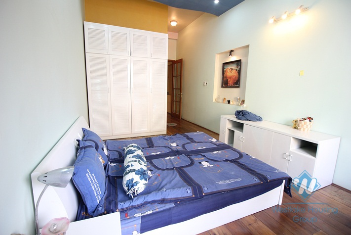 Charming and cozy house with large terrace for rent in Hoan Kiem