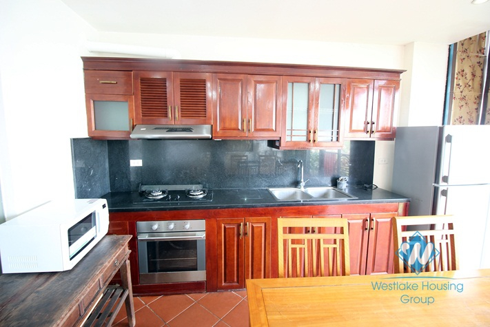 A beautiful apartment with lake view for rent in Tay Ho, Ha Noi