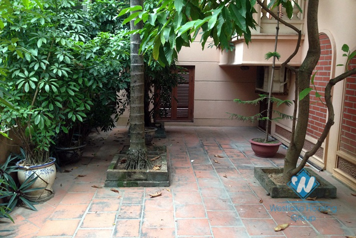 Large size house for rent in Tay Ho, Hanoi