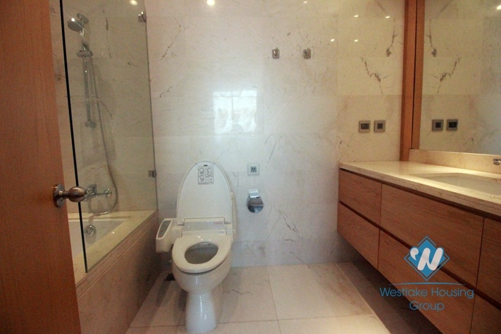 01 bedroom apartment with large balcony and lake view for rent in Tay Ho area, Hanoi, Vietnam