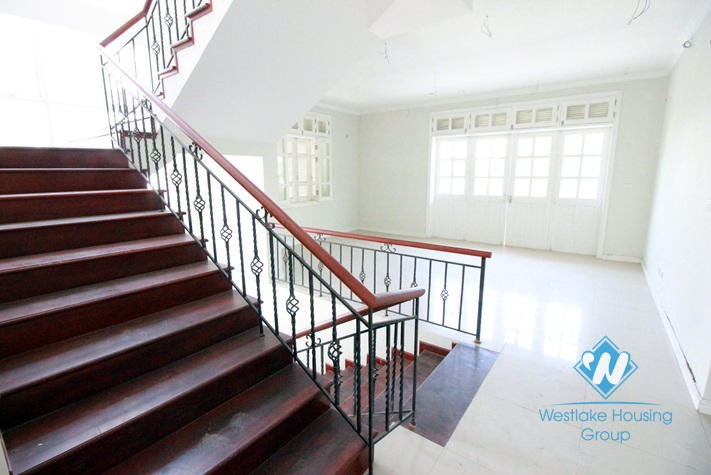 Large house for rent in Ciputra compound, Tay Ho, Hanoi - Unfurnished