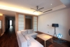 Modern apartment with 03 bedrooms for rent in To Ngoc Van St, Tay Ho, Hanoi.