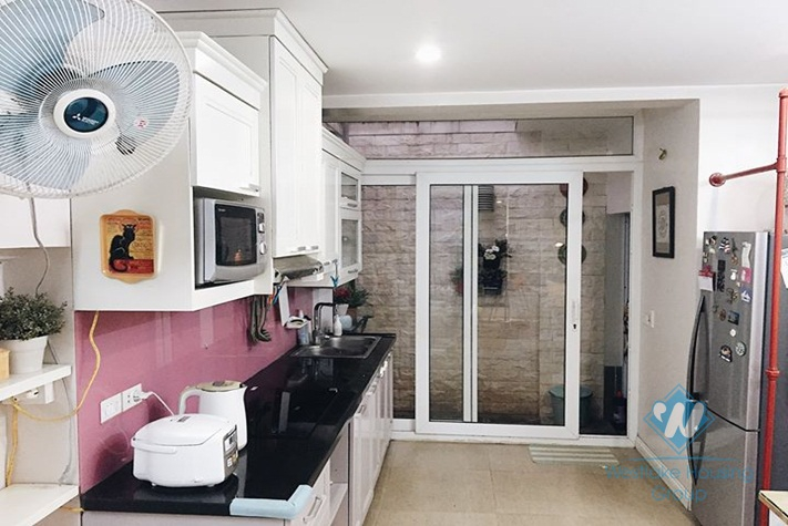Beautiful 3-bedroom house for rent in Ba Dinh