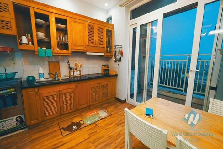A nice 2-bedroom apartment for rent in Pham Ngoc Thach, Dong Da