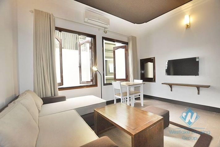 Nice studio apartment for rent in Tay Ho area, Ha Noi