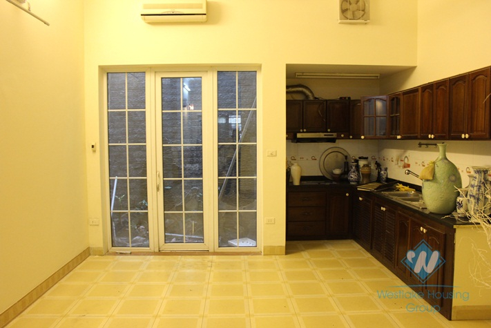 Fully furnished 4 bedroom house for rent in Tay ho, Ha Noi