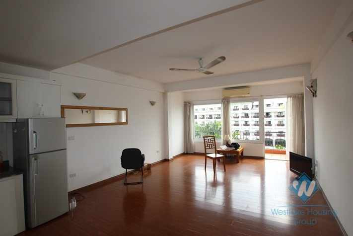 Duplex apartment with big balcony for lease in Nghi Tam Village