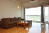 Beautiful apartment on the lake for lease in Tay Ho Hanoi