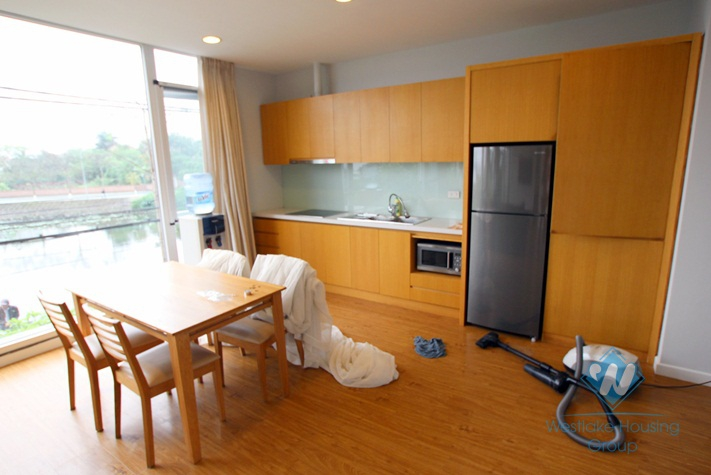High quality apartment with 2 bedrooms, nice lake view in Dang Thai Mai, Westlake area