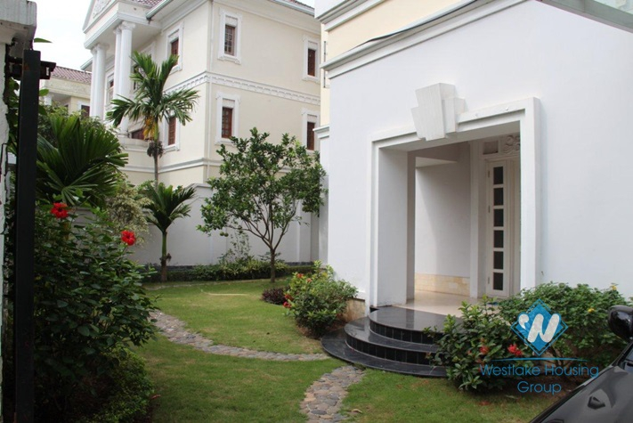 Gorgeous house with swimming pool for rent in Ciputra, Tay Ho