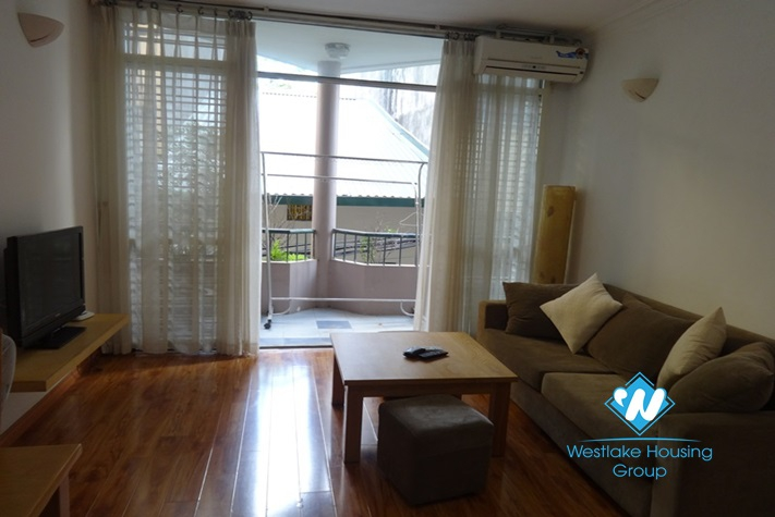 Bright and airy 1 bedroom apartment for rent in Hai Ba Trung