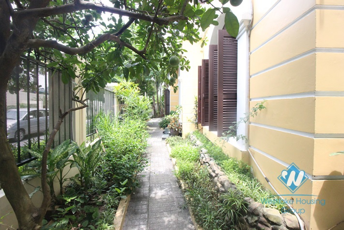 Spacious, fully furnished house for rent in Ciputra, Tay Ho, Hanoi