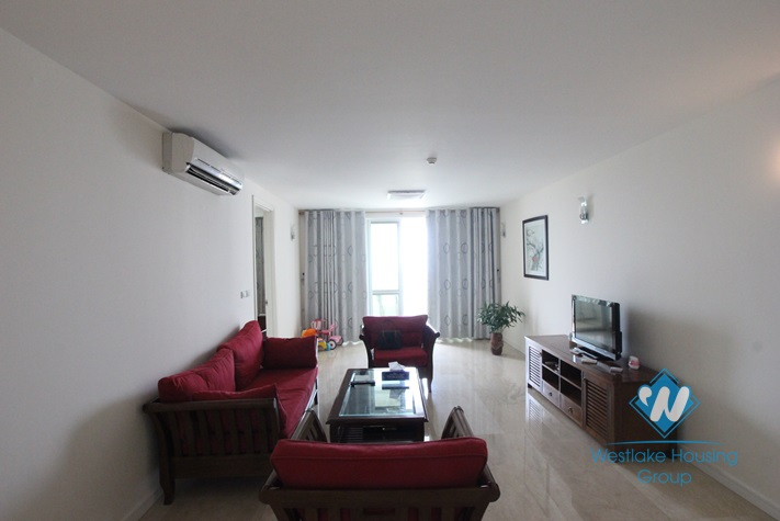 Beautiful apartment for rent in Ciputra Tay Ho Hanoi