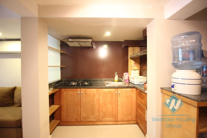 Lake side apartment for rent in Nghi Tam Village, cozy and spacious