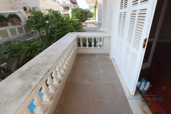 Wonderful house for rent in T block, Ciputra, Tay Ho, Hanoi