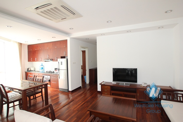 New, high quality 02 bedrooms apartment rental in Tay Ho district, Hanoi.