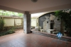 Beautiful villa for rent on Dang Thai Mai, Tay Ho with large ground terrace with greenary, 5 mins walk to Westlake