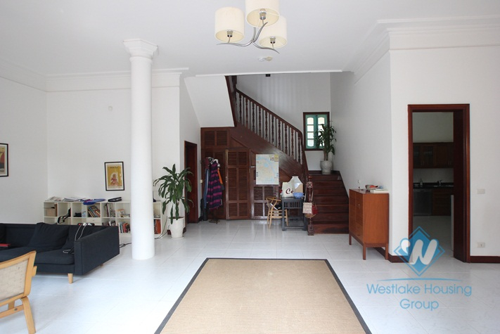 Beautiful house for rent in Dang Thai Mai alley, quite and full of natural light