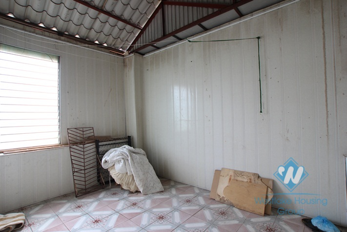 Small house in a quiet lane available for rent in Tay Ho district, Hanoi.