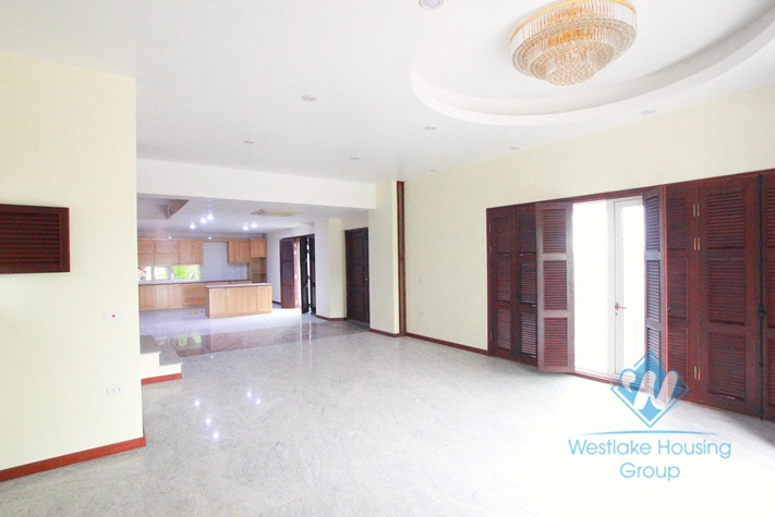 Wonderful villa for rent with swimming pool in Westlake area, Hanoi