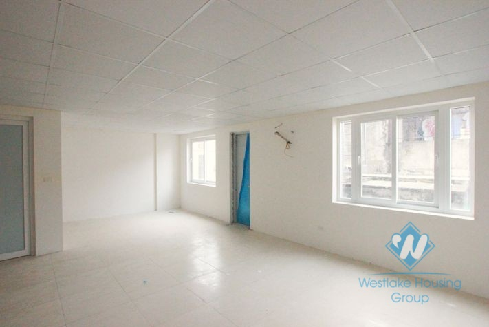 Wonderful office for rent in Xuan Dieu street, Tay Ho, Hanoi