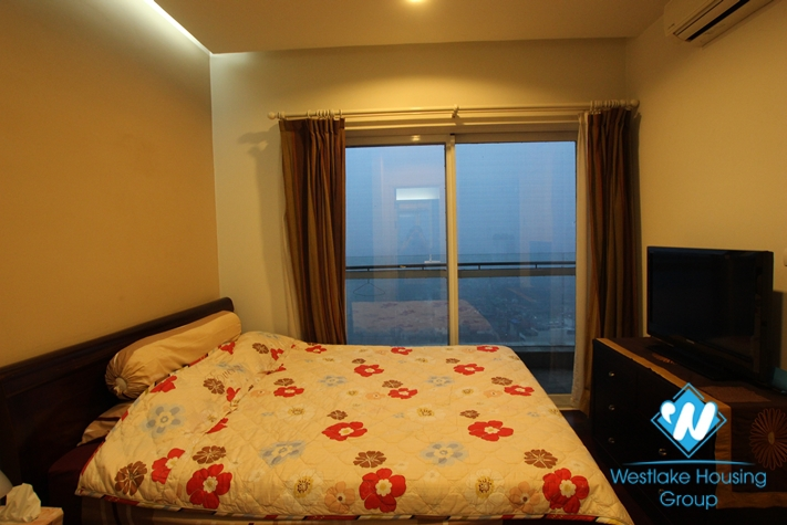 Cozy 02 bedrooms apartment with city view for rent in Golden Westlake, Hanoi