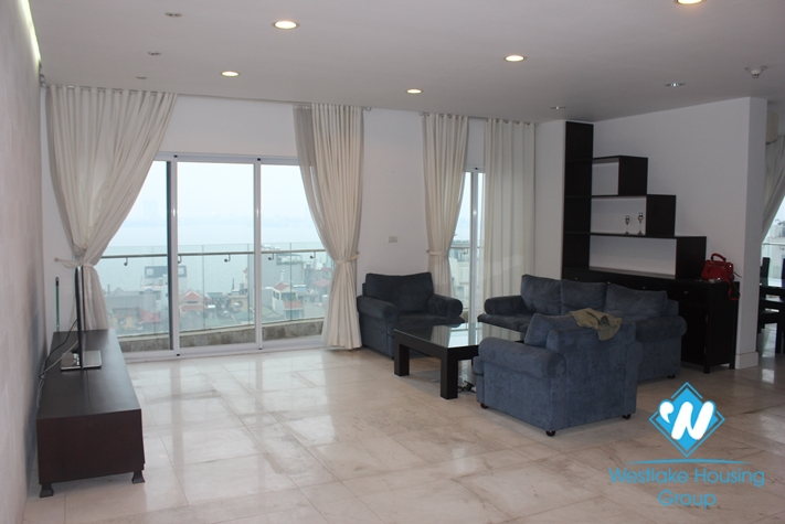 Beautiful apartment for rent in Golden Westlake, Thuy Khue, Tay Ho, Hanoi