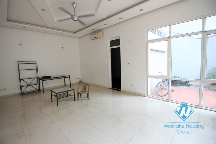 Unfurnished house for rent close to West lake side, Tay Ho