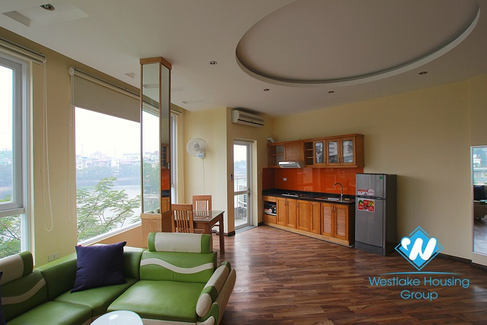 New apartment for rent in Truc Bach area, Ba Dinh, Ha Noi