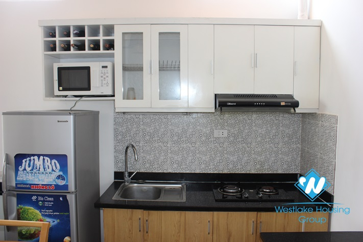 Apartment for lease in Ba Dinh.