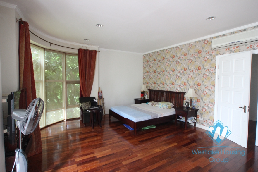 Nice and furnished house for rent in Ciputra, Tay Ho, Hanoi