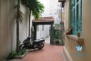 Nice house with small yard for rent on Dao Tan, Ba Dinh, Hanoi