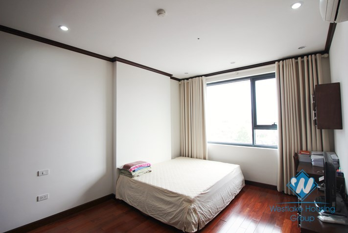 Bright and nice apartment for rent in Platinum Residences, Ba Dinh District, Hanoi, Vietnam.