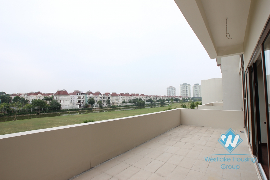 Large house with nice garden for rent in Ciputra, Tay Ho, Ha Noi - Unfurnished