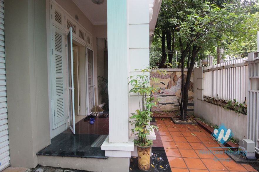 3 bedrooms villa for rent in T tower Ciputra, Tay Ho