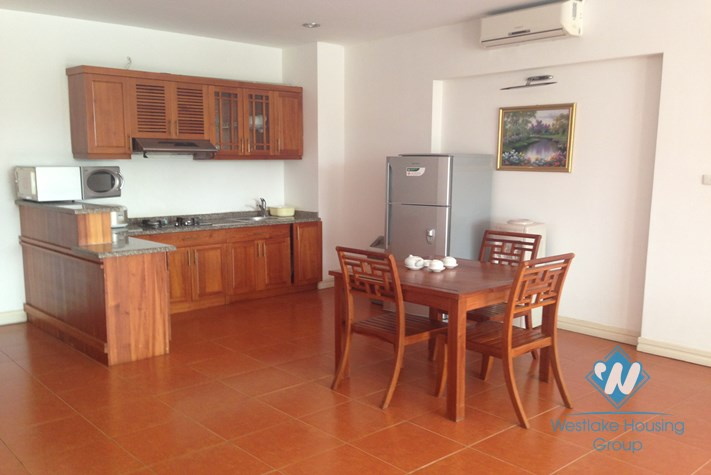 Apartment on the lake for rent in Truc Bach, Ba Dinh, Hanoi